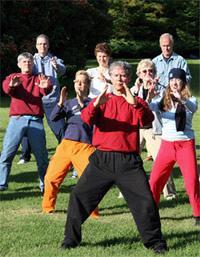 Roger Jahnke Tai Chi at Esalen